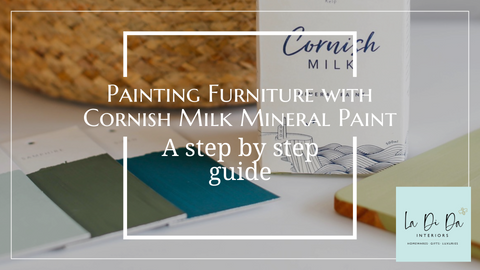 Painting Furniture with Cornish Milk Mineral Paint a Step by Step Guide