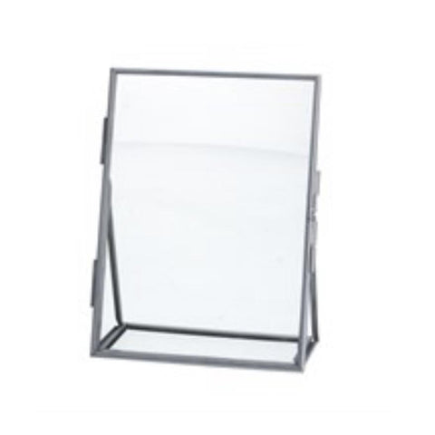 Silver Floating Photo Frame