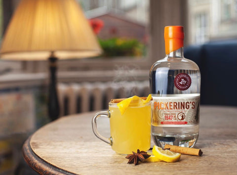 Pickering's Hot Toddy cocktail