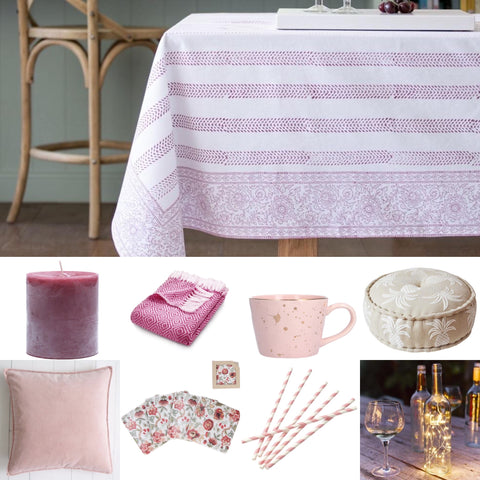 Pink Tablescaping Inspo