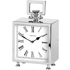 Square table clock