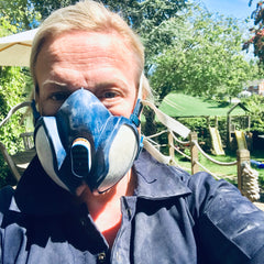Always wear a dust mask when sanding