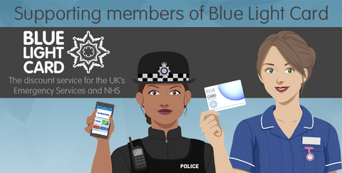 Blue light card discount scheme