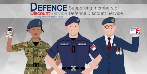 Defence Discount Service Card for Army, Navy & Airforce