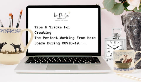 Tips and tricks for work from home spaces