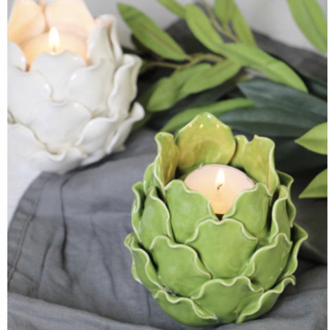 Artichoke Tealight holder by Gisela Graham