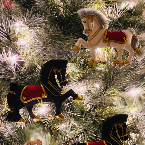 Horse Christmas tree decorations