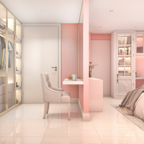 Pastel Bedroom colour scheme