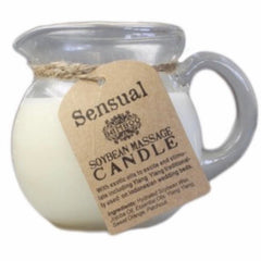 Sensual massage candle