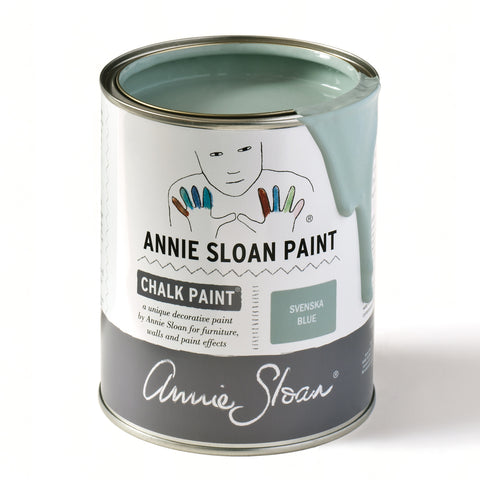 Annie Sloan Svenska Blue Chalk Paint Tin