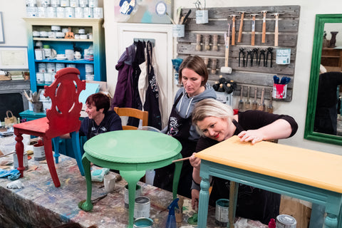 Furniture Painting Workshops at La Di Da Interiors
