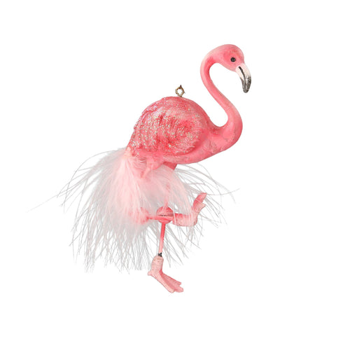 Pink Flamingo Christmas Tree Decoration - La Di Da Interiors