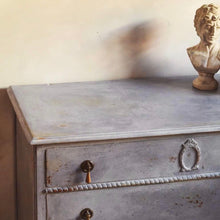 Load image into Gallery viewer, Maud - Faded Grandeur Chest Of drawers in Violet SOLD - La Di Da Interiors