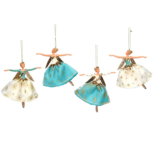 Gisela Graham Christmas Fairy Tree Decorations