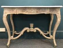 画像をギャラリービューアに読み込む, Marble & Stone effect console table SOLD - La Di Da Interiors