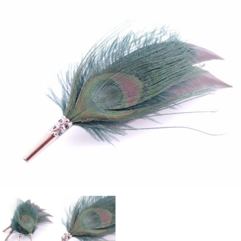 Feather Brooch Pins - La Di Da Interiors