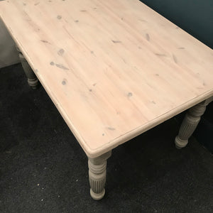 Erika the upcycled dining table SOLD - La Di Da Interiors