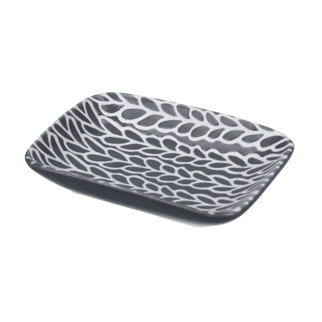 Grey and White Trinket Dish - La Di Da Interiors
