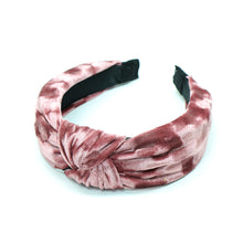 Load image into Gallery viewer, Dusky pink velvet headband