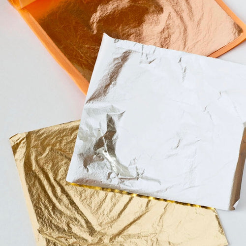 Gilding Leaf Metal - Gold, Silver & Copper - La Di Da Interiors