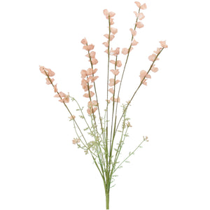 Pink Wild Lupins Set of 3 Sprays of Faux Flowers
