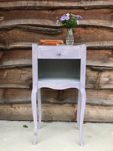 French bedside table with drawer - Gigi SOLD - La Di Da Interiors