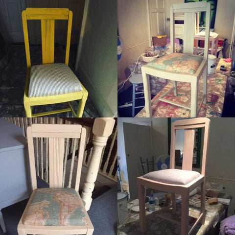 Annie Sloan Complete Chair Make Over
