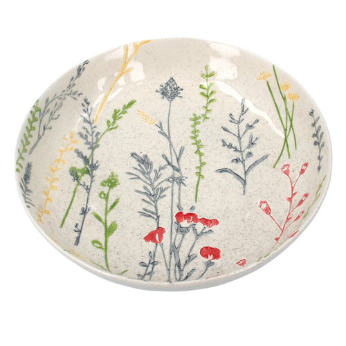 Meadow Flowers Large Bowl