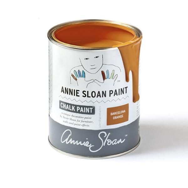 Annie Sloan Chalk Paint Tin Barecalona Orange