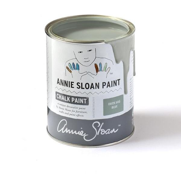 Annie Sloan Chalk Paint Duck Egg Blue Green Tin