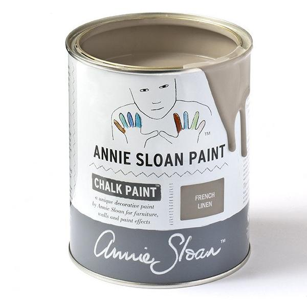 Annie Sloan French Linen Chalk Paint tin