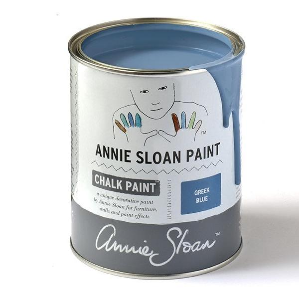 Greek Blue Annie Sloan Chalk Paint Tin