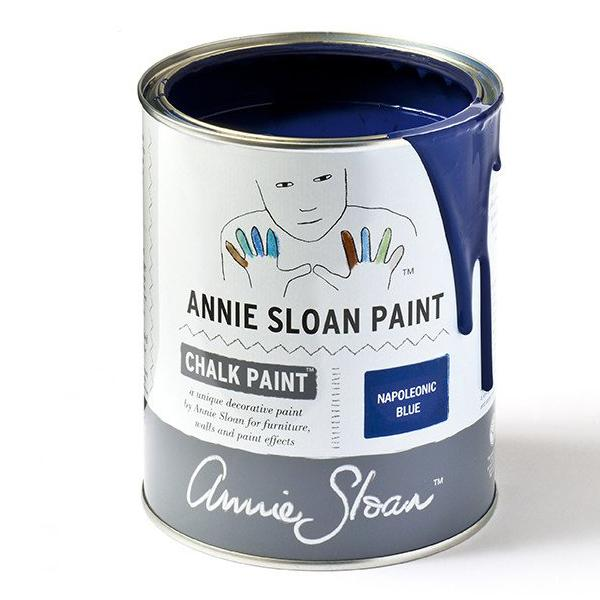 Annie Sloan Napoleonic Blue Chalk Paint tin
