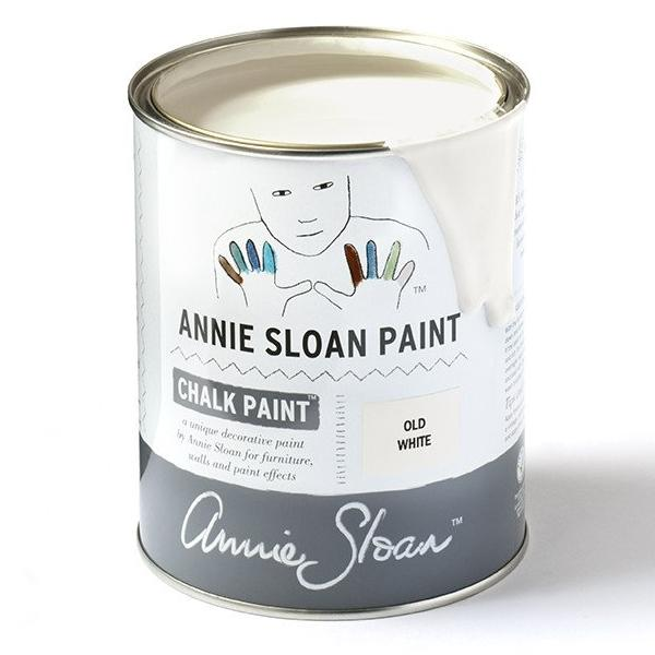 Annie Sloan Chalk Paint in Old White Tin