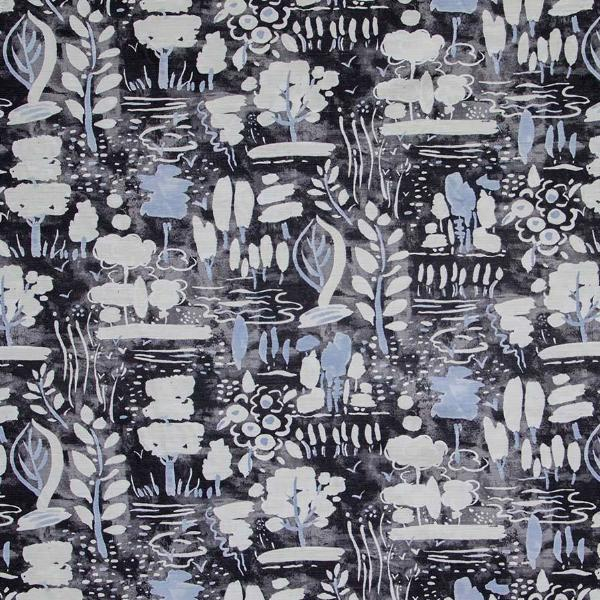 Dulcet fabric in graphite by Annie Sloan