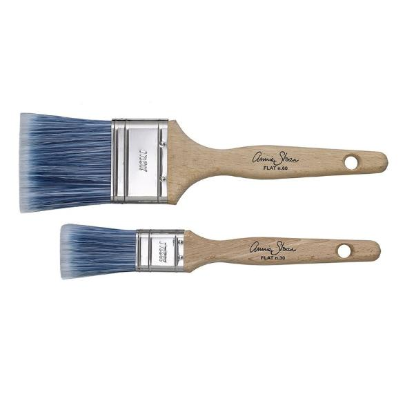 Annie Sloan Flat Paint Brushes Small & Large