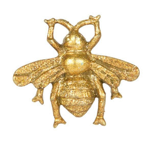 Bee Drawer Handle Vintage Style Gold - La Di Da Interiors