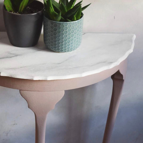 Darcy - Demi Lune Hall Table