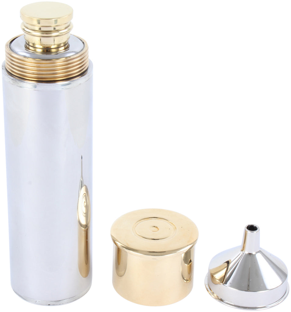 Gun Cartridge Metal Hipflask - La Di Da Interiors