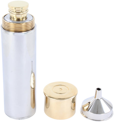 Gun Cartridge Metal Hipflask