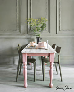 Scandinavian Pink Dining Table