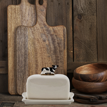 Load image into Gallery viewer, Cow butter dish