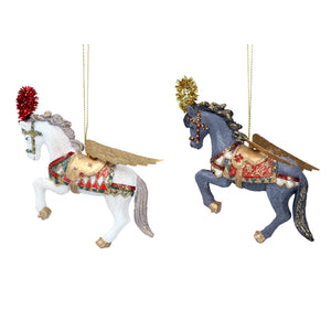 Venetian Dancing Horses Christmas Tree Decoration - La Di Da Interiors