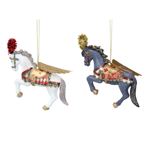 Venetian Dancing Horses Christmas Tree Decoration