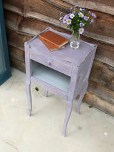 将图片加载到图库查看器,French bedside table with drawer - Gigi SOLD - La Di Da Interiors