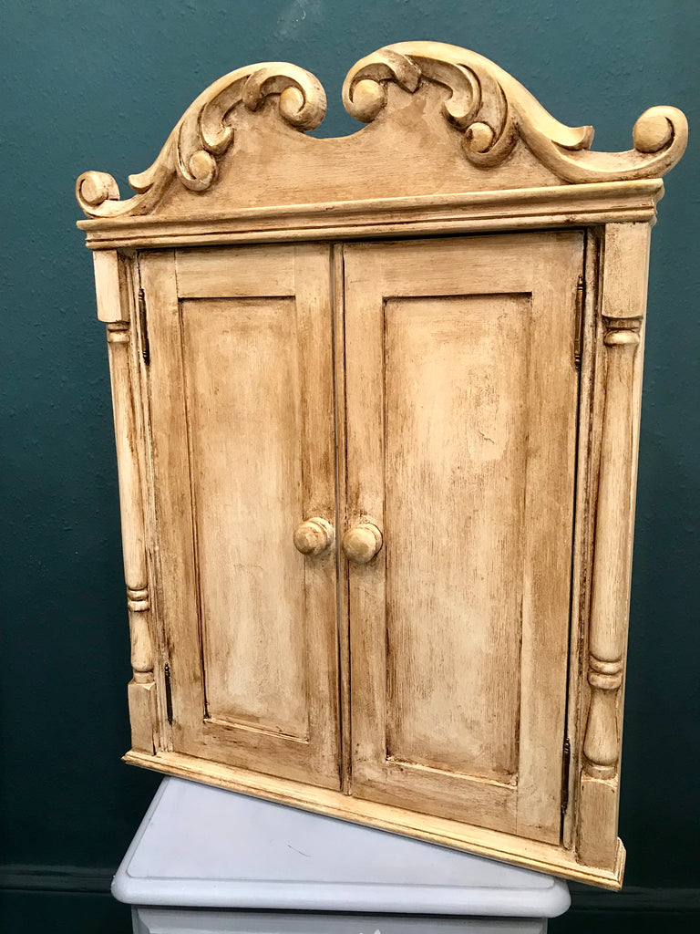 Charlotte the Corner Cupboard