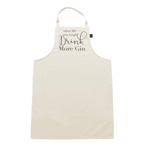 Drink More Gin Apron - La Di Da Interiors