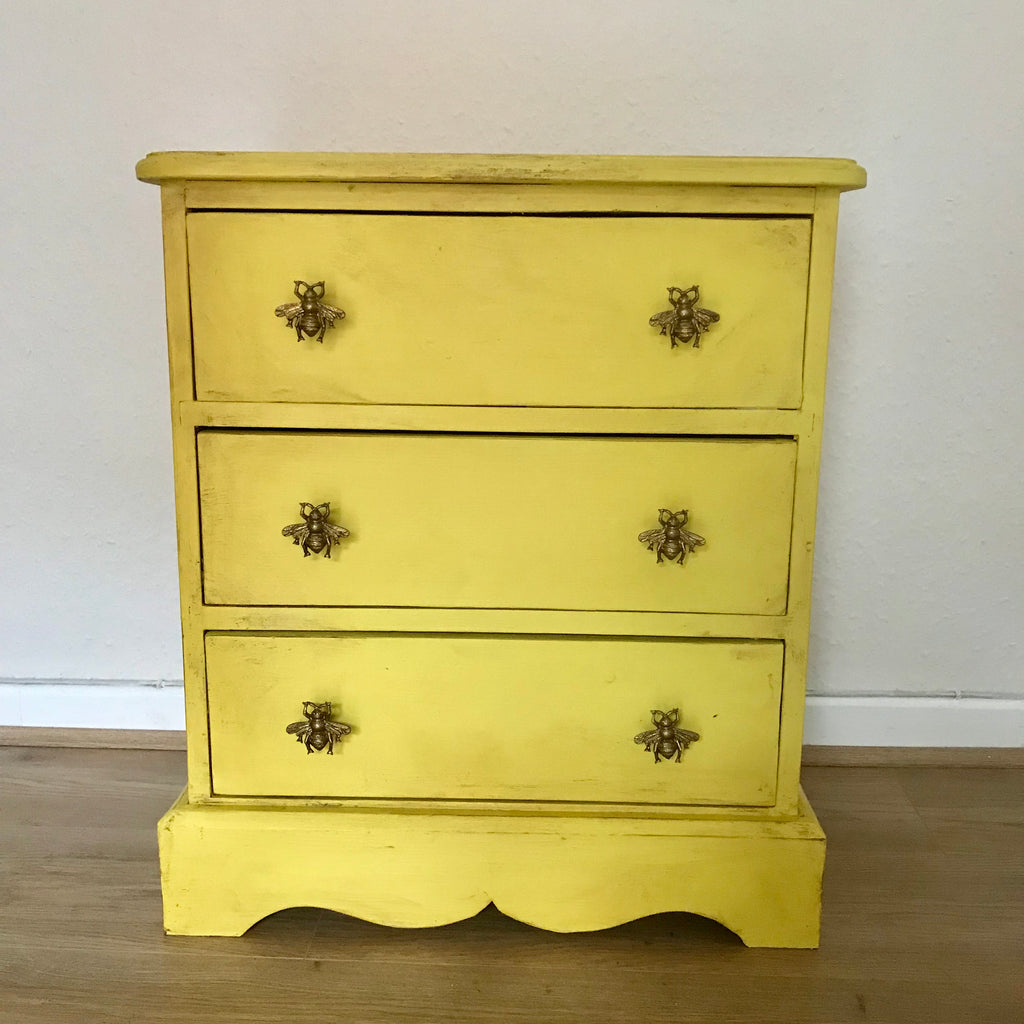 Buzby - Yellow Bee Chest Of Drawers SOLD - La Di Da Interiors