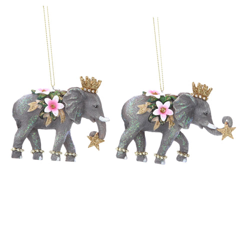 Elephant Christmas Tree Decorations