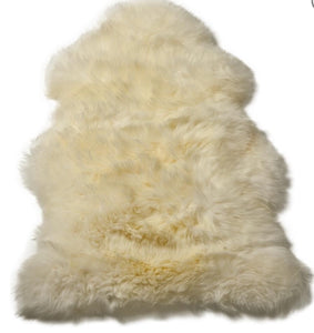 Premium Large Sheepskin in Taupe, Ivory or Dark Grey - La Di Da Interiors
